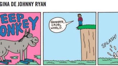 La página de Johnny Ryan: Deep Donkey