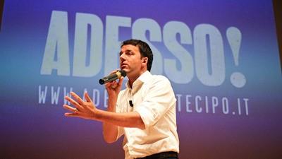 Il mondo perfetto di Matteo Renzi