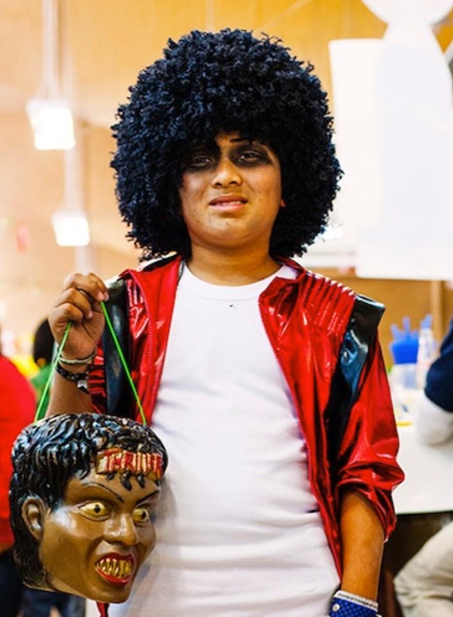 Los Michael Jackson en miniatura de México DF
