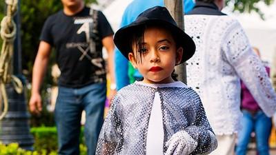 Los pequeños Michael Jackson de México DF