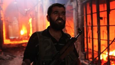 Siria - La distruzione del vecchio suq