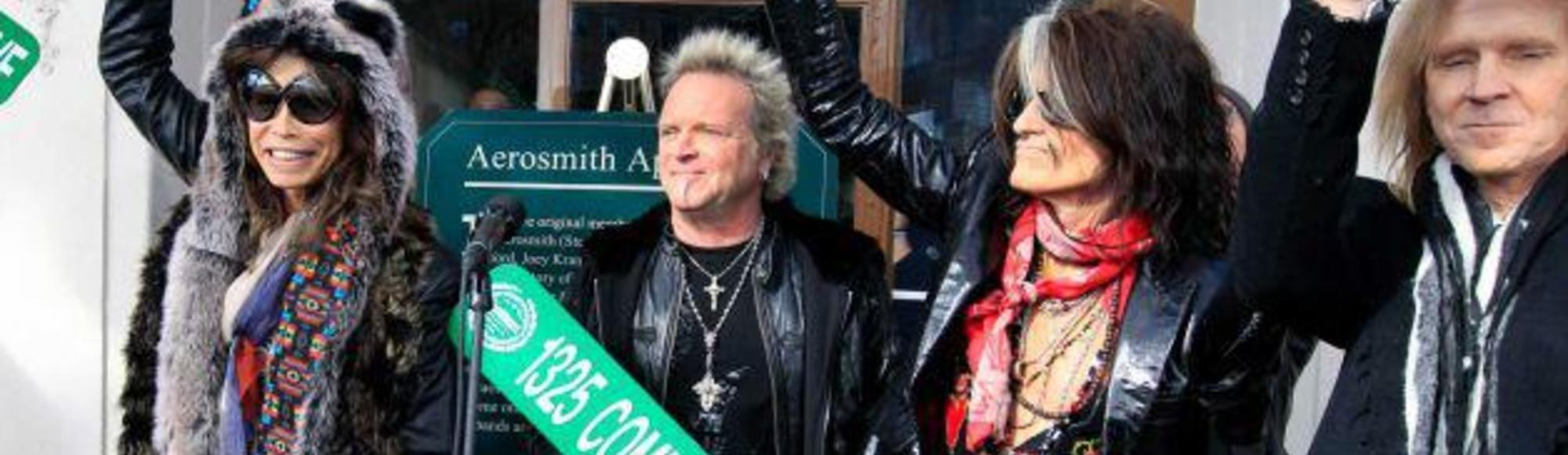 No One Was Sober at a Monday Afternoon Outdoor Aerosmith Show