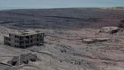 Hoe een decadent Caribisch paradijs werd bedolven onder een laag lava en as