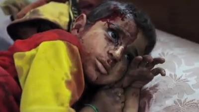 Siria - Hospital de campaña de Al Qusayr