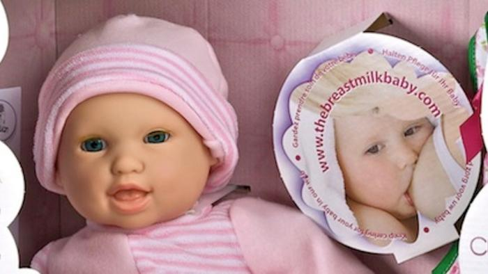Some People Made a Breastfeeding Baby Toy