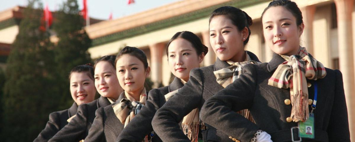 Women Are 'Pretty Scenery' at the 18th National Congress of the Communist Party of China