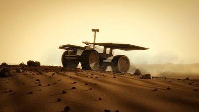 Tutta la vita su Marte