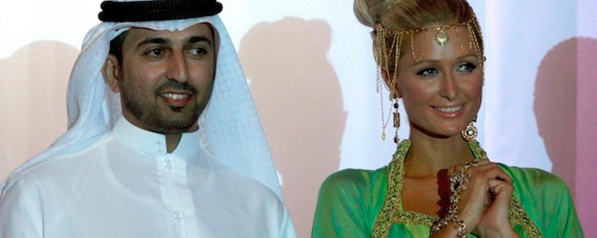 Paris Hilton Has Arrived In Mecca