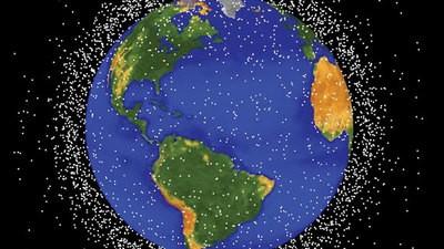 Weltraummüll hält uns vielleicht für immer auf der Erde fest