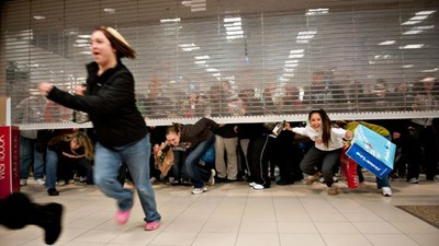 Why Do We Go Bloodlust-Crazy Over Holiday Sales?