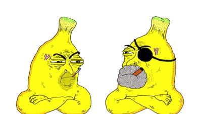 Me Cago de Medo de Bananas de Pijamas