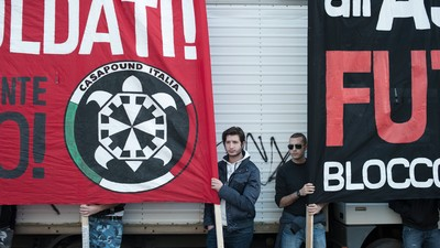 CasaPound's First Big Outing in Rome Was a Snooze-Fest