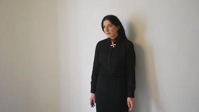 Troquei uns palavreados com a Marina Abramović