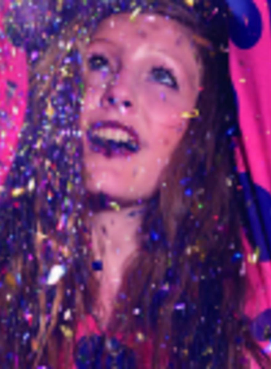 Chuva de Glitter