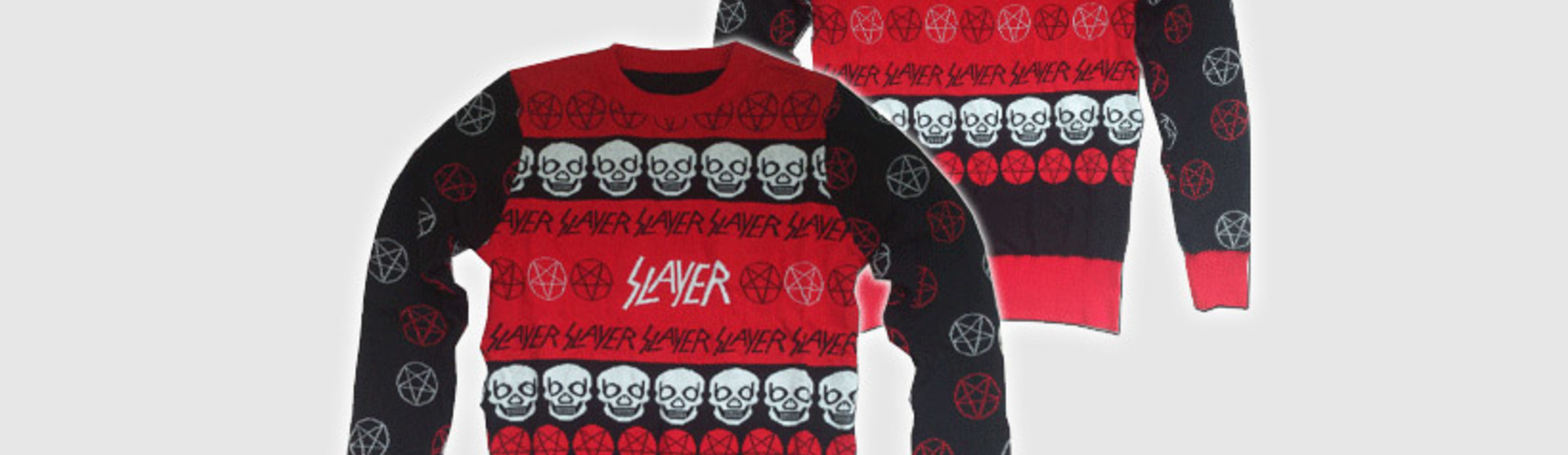 The Slayer Christmas Sweater Is a Disgrace