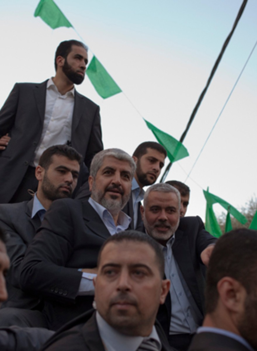 I Saw the Tearful Return of Hamas's Exiled Leader