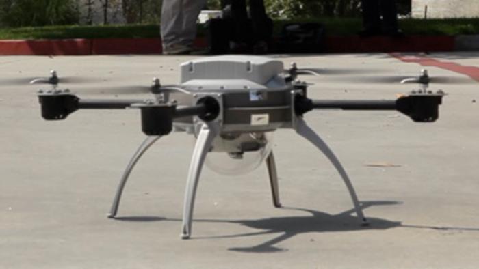 Die Drohnen sind los