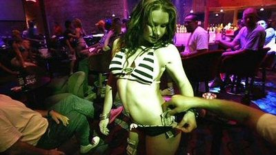 My Very Gay Night at Very Straight Strip Clubs