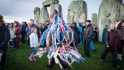 Making Friends at Stonehenge for the End of the World