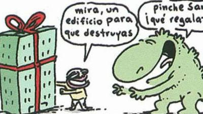 Estaba un día el Santos con Godzilla...