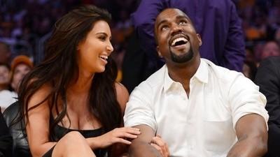 Macacos me mordam: o Kanye West e a Kim Kardashian vão ter um bebé