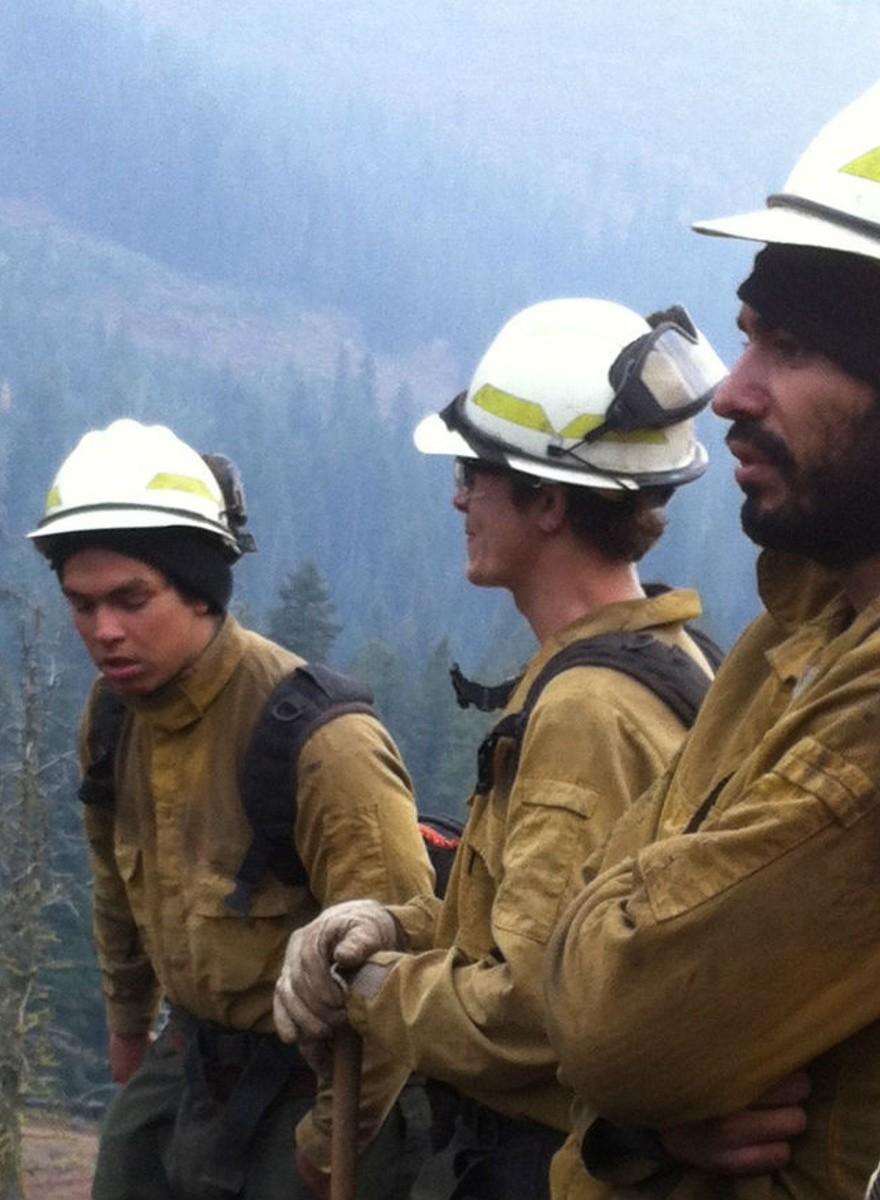 Combatiendo los incendios en Idaho