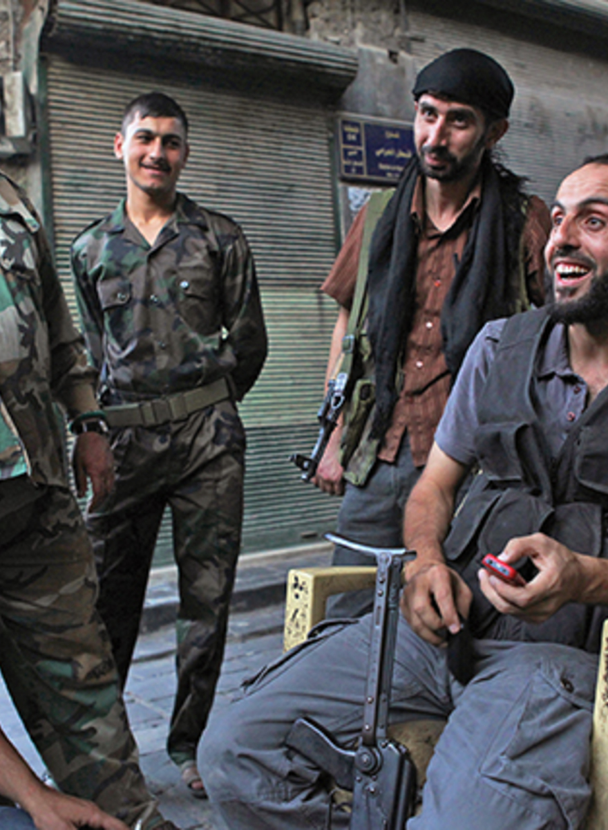 Interviews with a Commander and a Rebel Soldier in the FSA