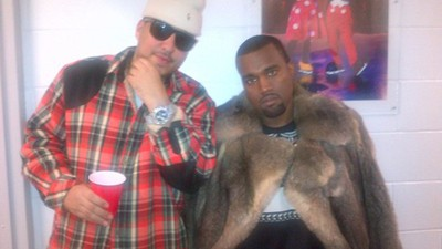 "Kanye Was ""All Over"" French Montana"