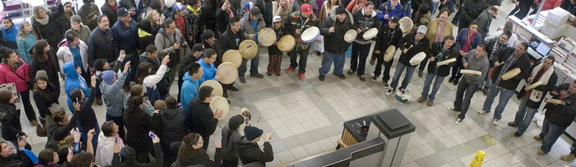 What Exactly Is Idle No More?