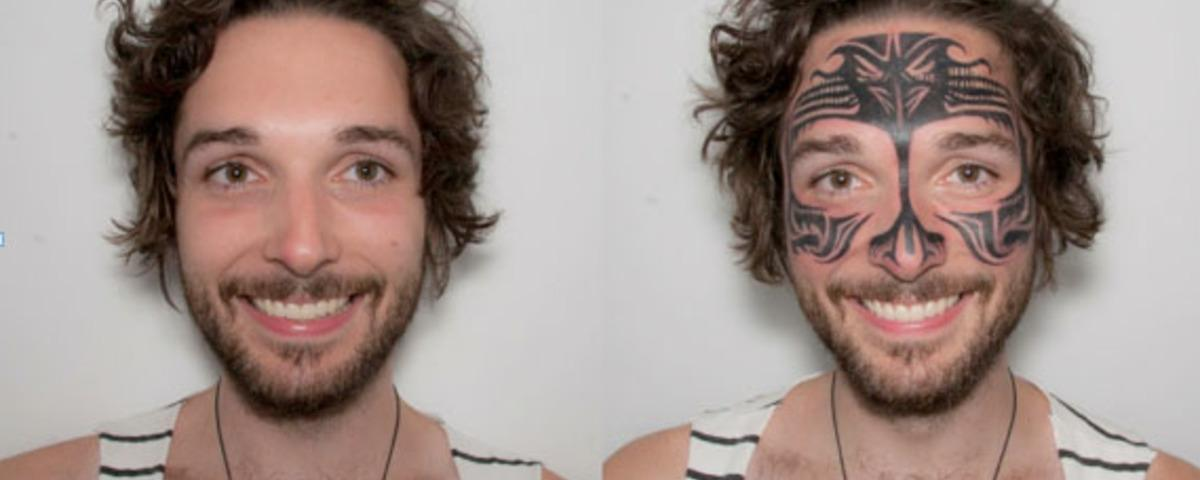 I Had a Face Tattoo for a Week