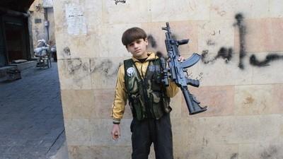 Mohammed, ein 11-jähriger Killer aus Syrien