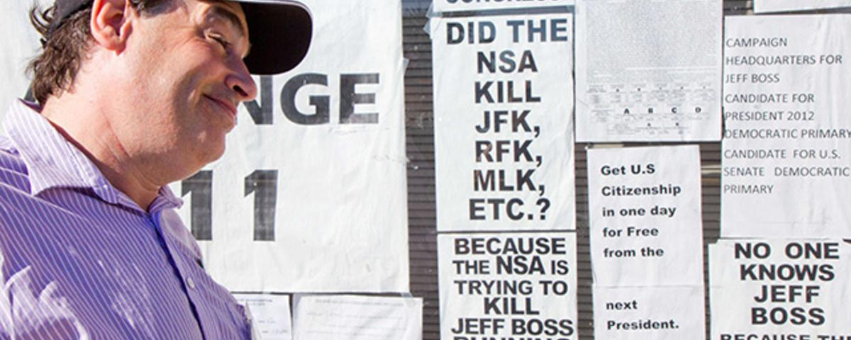 The Frenzied Conspiracy Theories of Jeff Boss