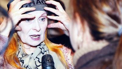 La 74 de ani Vivienne Westwood e cea mai hardcore punkistă