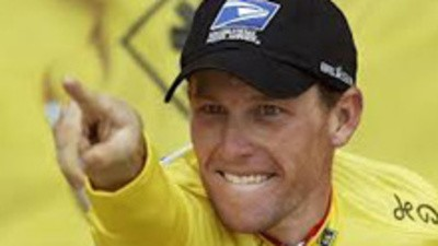 O Lance Armstrong afinal andava a cavalo