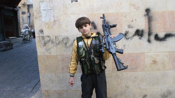 We kwamen in Syrië een elfjarige kindsoldaat tegen