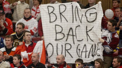 Most Hockey Fans Are Suckers