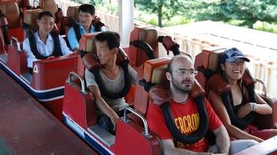 Hoping No One Dies at the North Korean Fun Fair!