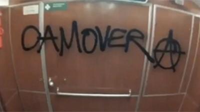 Los anarquistas alemanes están hasta las narices de las cámaras de videovigilancia