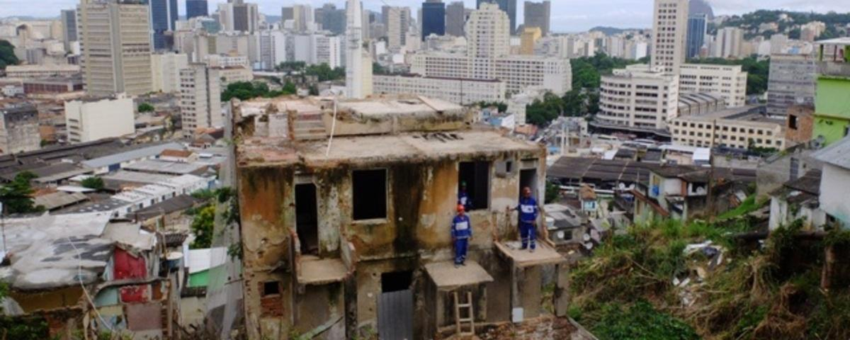 A Bike Ride to the Top of Rio's Oldest Favela