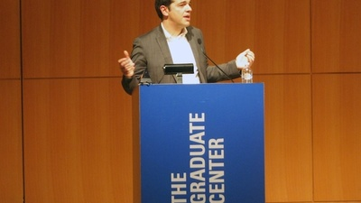 Alexis Tsipras and Greece's Radical Left Take New York