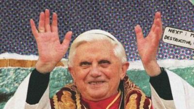 Me siento mal porque el Papa ha dejado a Dios colgado