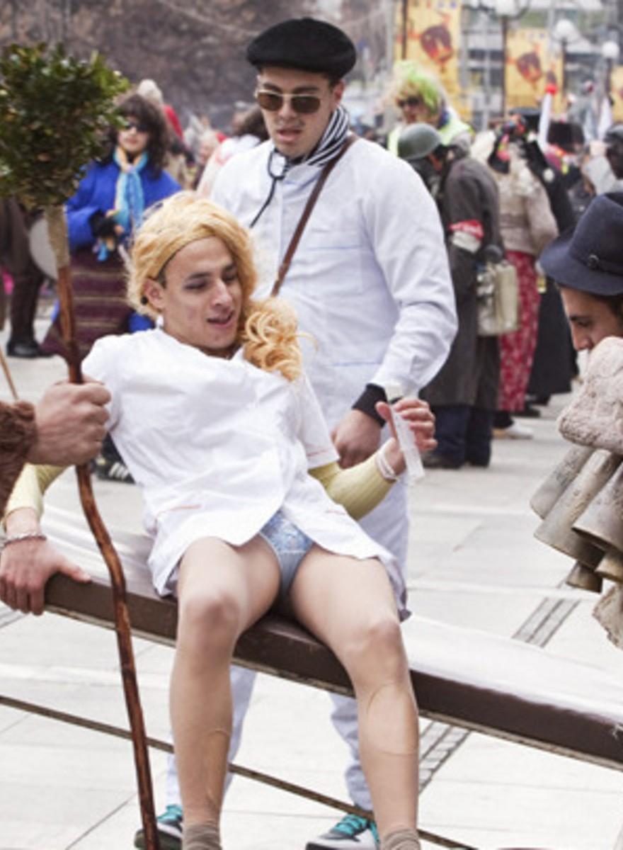 Así es como los búlgaros asustan a los malos espíritus