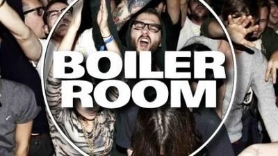 Logo à noite vou ao Boiler Room