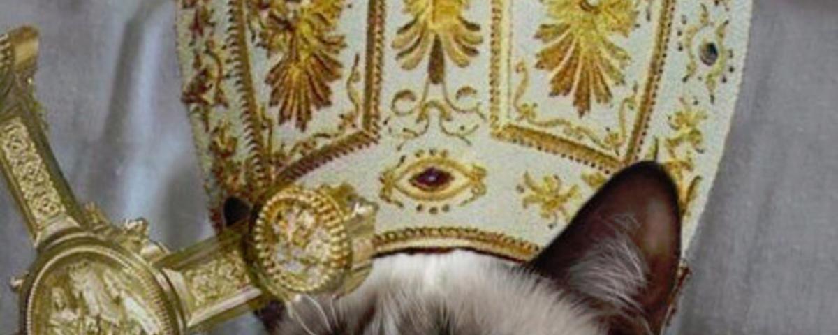 Sei keine Pussy, sei Papst