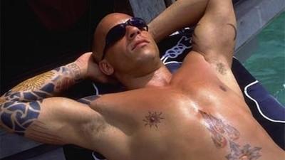 Vin Diesel's Cream-Colored Long Johns