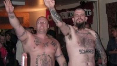 La escena nazi punk inglesa está viva pero renqueante