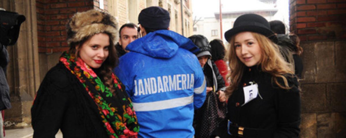 Take the Romanian Skinheads Bowling