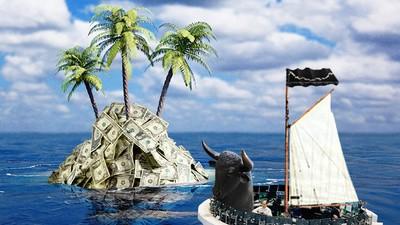 Liebe gierige Nachwuchsbanker, wenn ihr die fette Kohle wollt, zieht in die Karibik