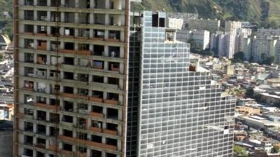 Los tugurios en los rascacielos de Venezuela