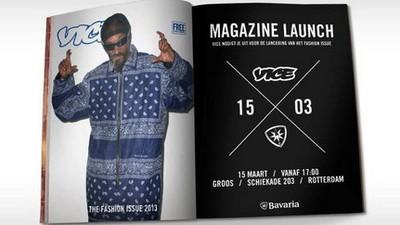 We presenteren 15 maart ons Fashion Issue in Rotterdam, en doen dat met trots en bier